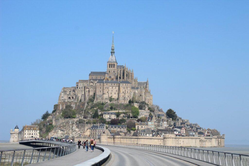 Is Mont Saint Michel an Island