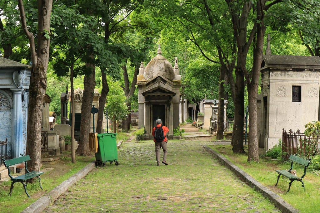 Montmartre Cemetery - Paris, France