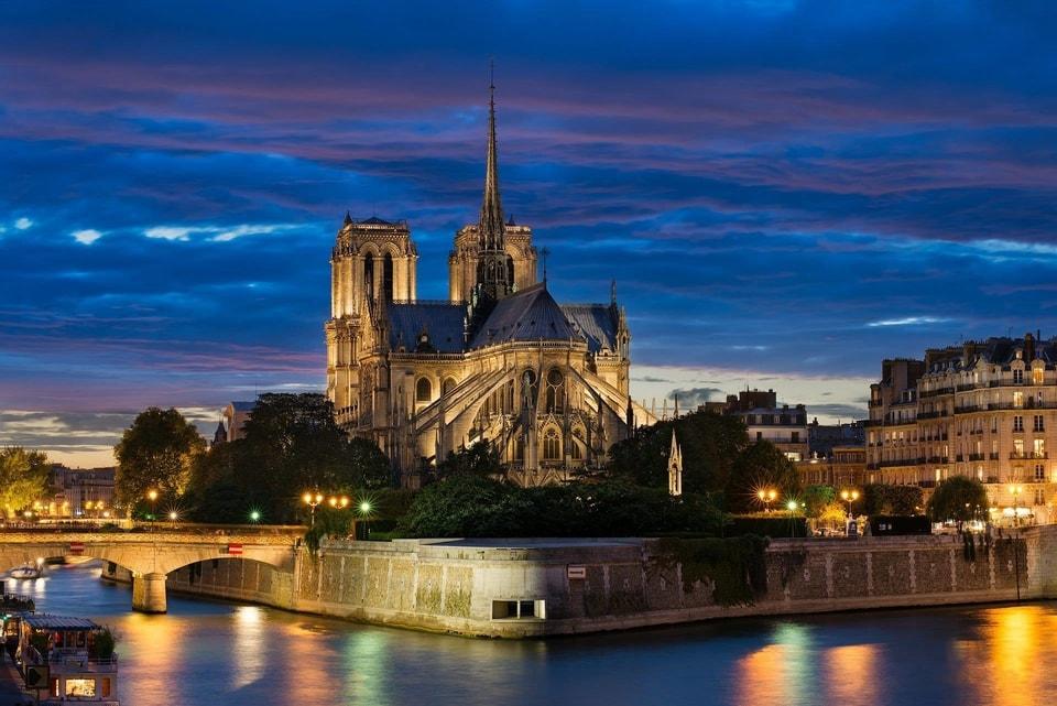 Most Famous Tourist Attractions in Paris - Notre Dame