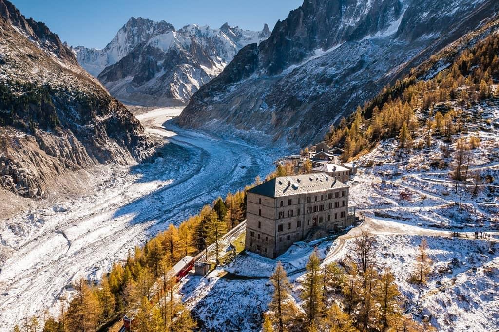 Refuge du Montenvers Chamonix-Mont-Blanc, France