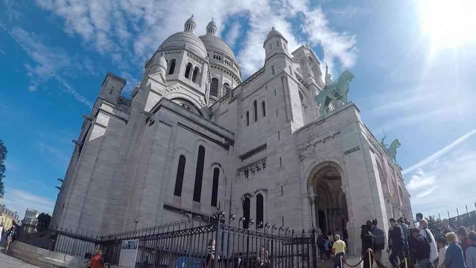 Sacre-Coeur Basilica in Montmartre