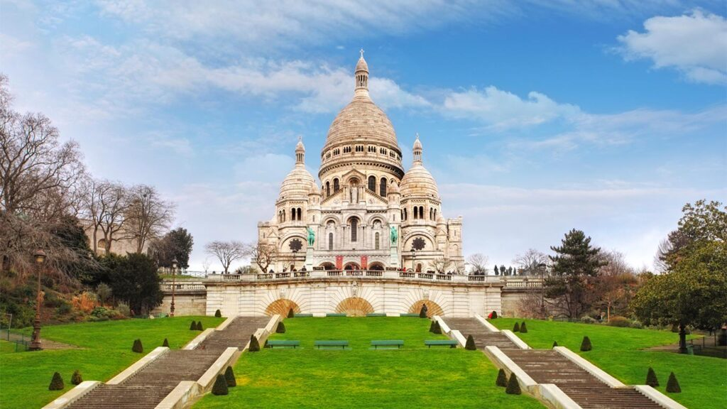 Sacre-Coeur Landmark Paris