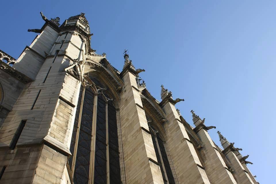 Visiting Sainte-Chapelle in Paris, France