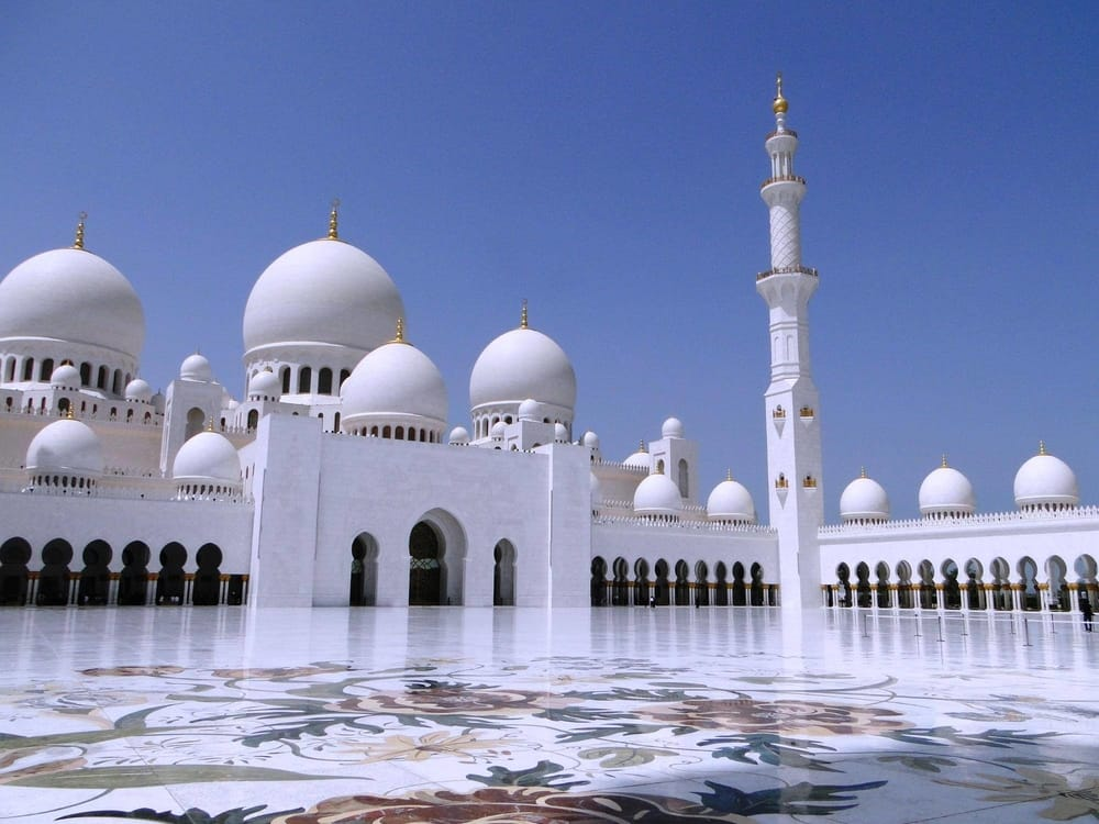 Sheikh Zayed Grand Mosque Center Famous World Landmarks