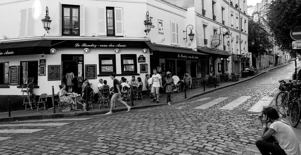 Montmartre Cobblestone Streets