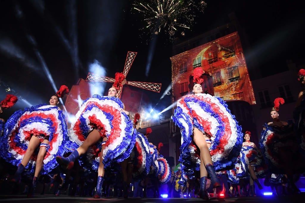 The Famous Moulin Rouge Dance