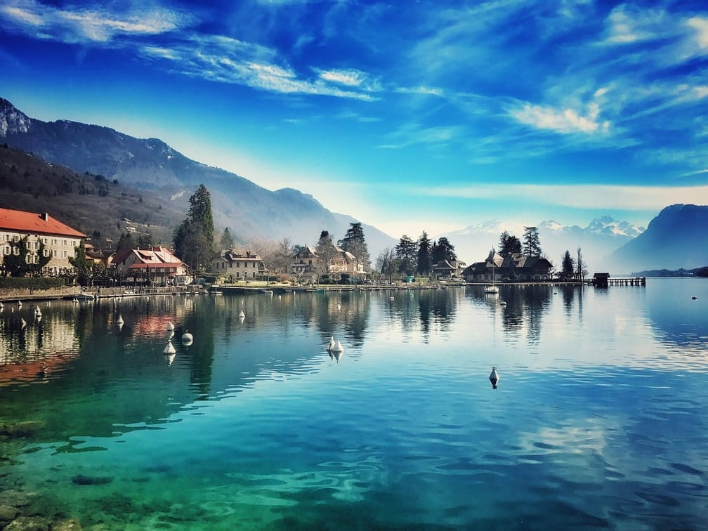 Lake Annecy Cleanest