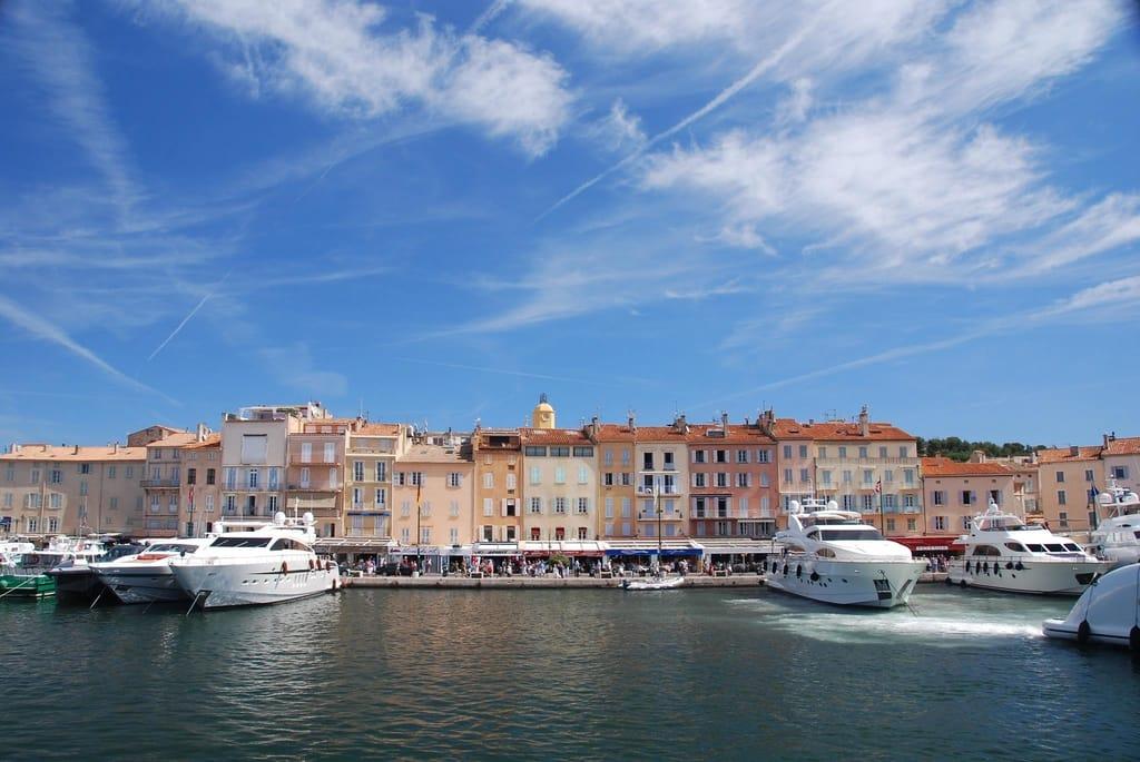 Le vieux port (The old port), St. Tropez, France