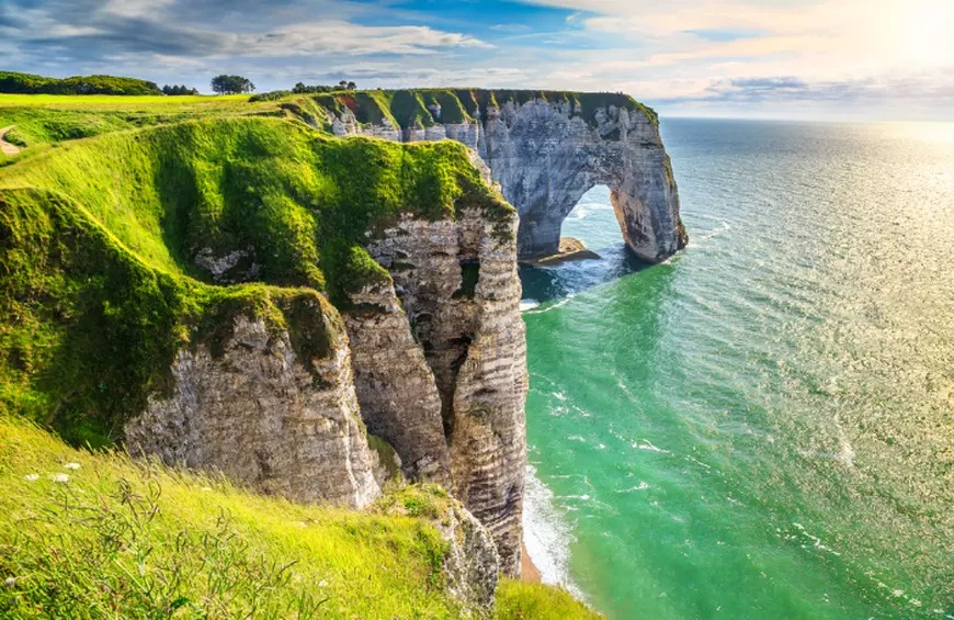Cliffs at Etretat, France - What Is Normandy Famous For