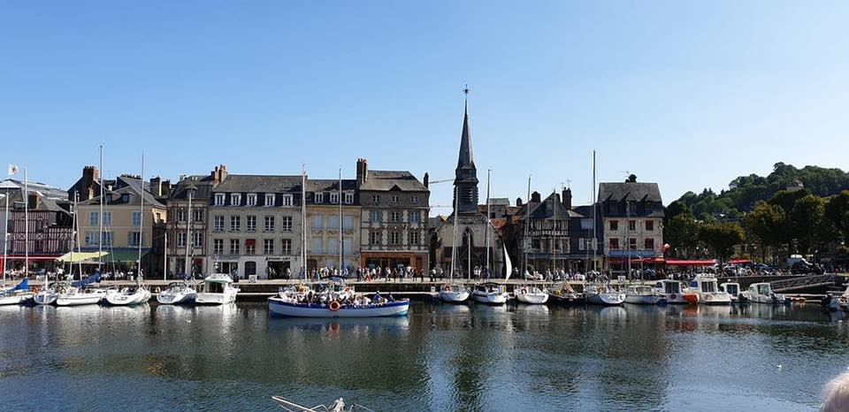 Honfleur, France in Normandy