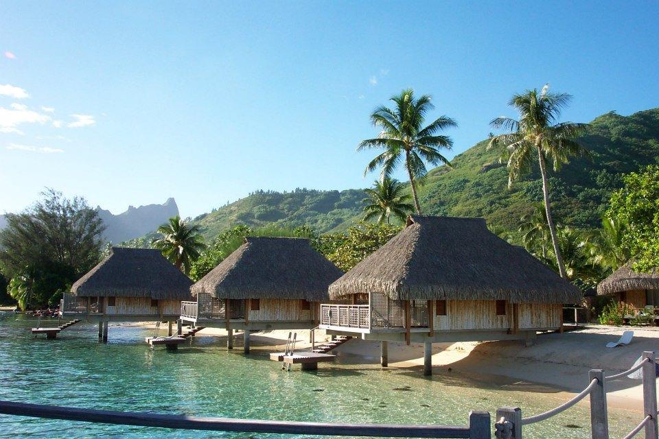 Moorea Island in French Polynesia