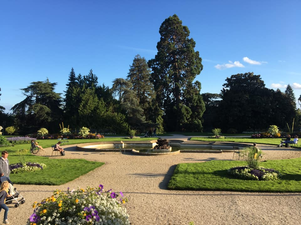 Visiting Parc du Thabor in Rennes