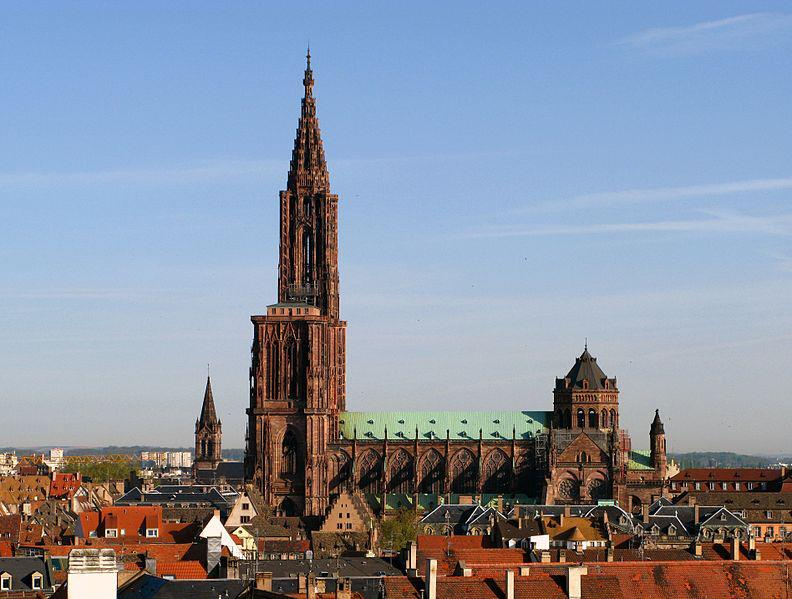 What is Alsace Famous For - Strasbourg Cathedral