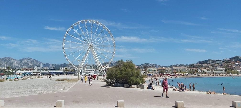 Escale Borely Beach - Marseille Beaches