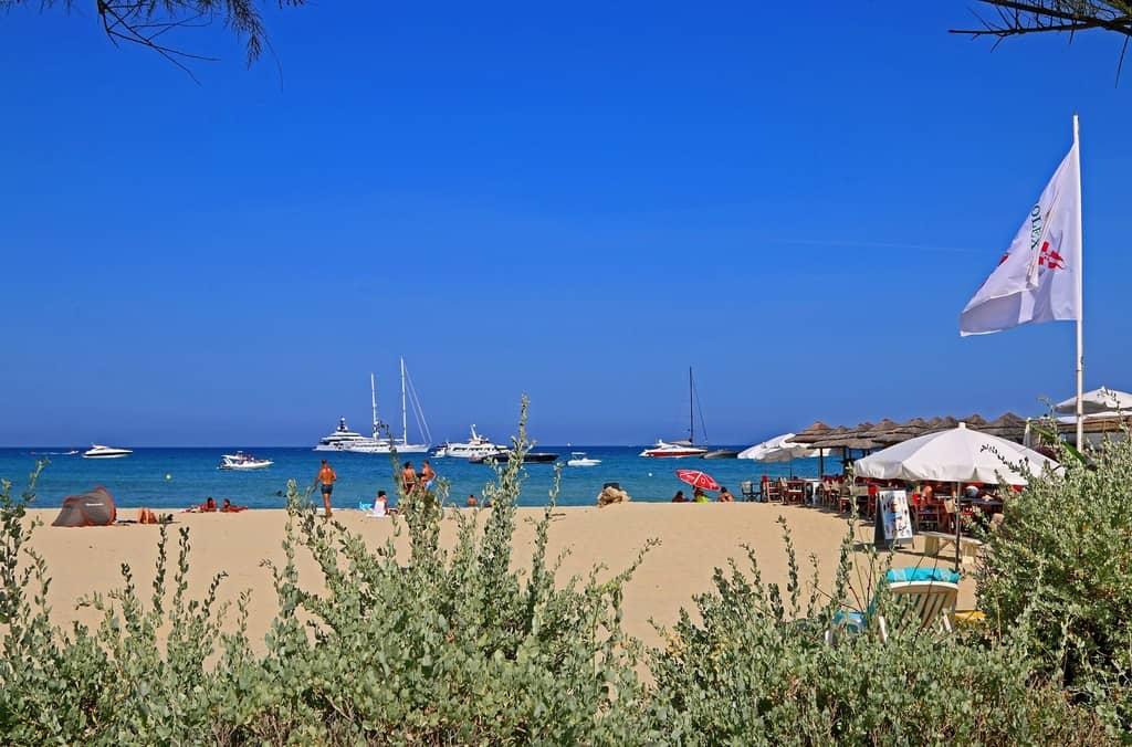 Plage de Pampelonne Ramatuelle - St. Tropez