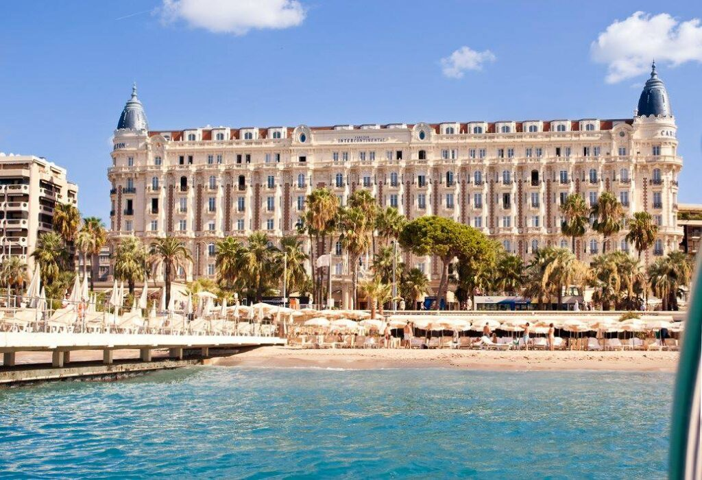 Hotel Carlton Beach in Cannes, France