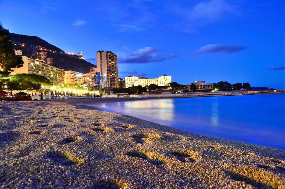 Larvotto Beach in Monte Carlo