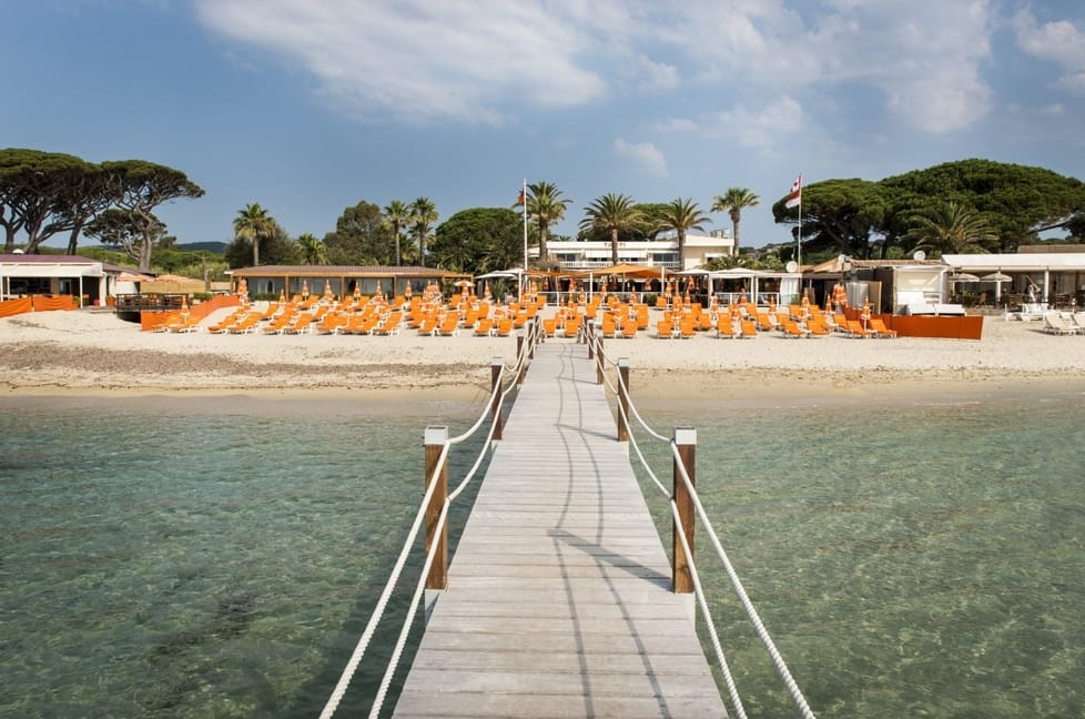 Tahiti Plage Beach - Best Beach in St Tropez