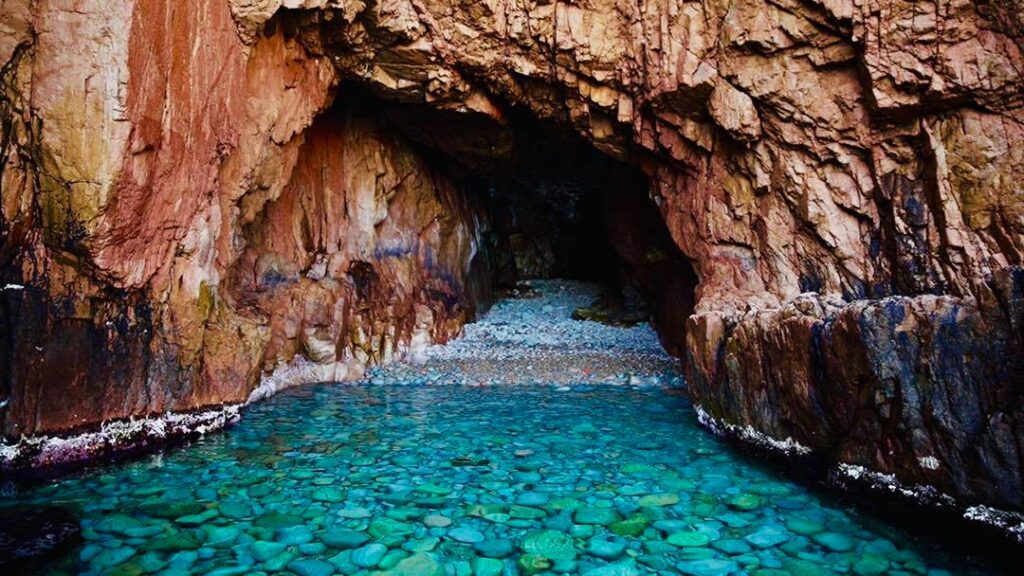 Calanques de Piana in Corse