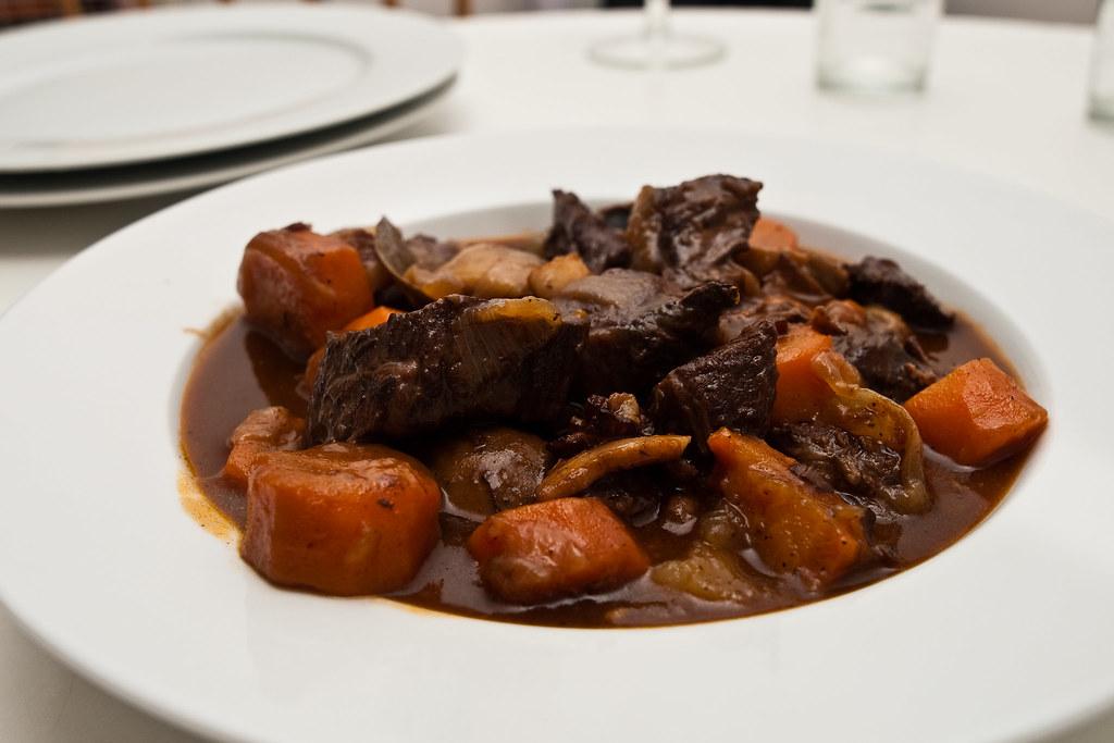 Beef Bourguignon Dish