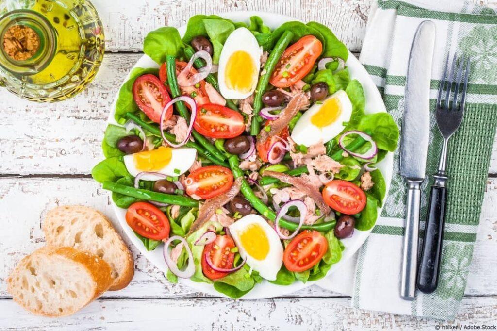 Salade Nicoise - Traditional French Salad